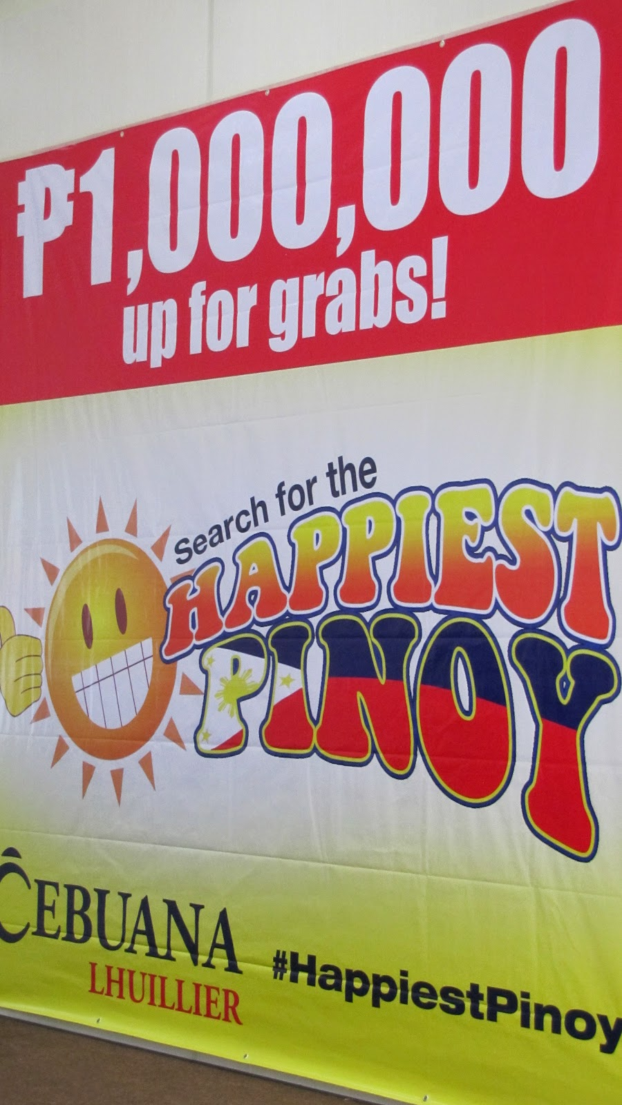 Cebuana Lhuillier's Seach for the Happiest Pinoy, #HappiestPinoy, Cebuana Lhuillier, Happiest Pinoy 2015, Happiest Pinoy, Pinoy
