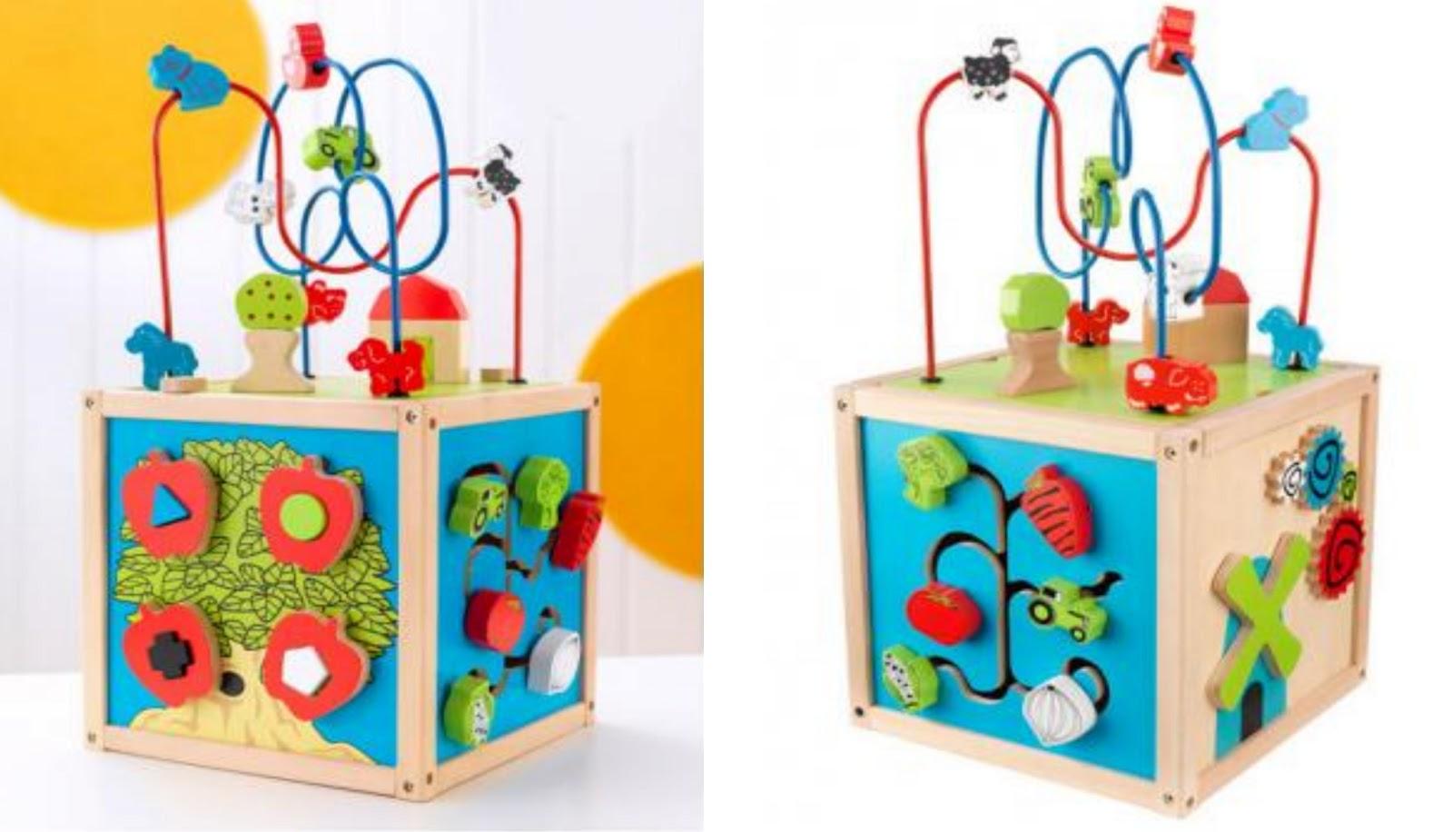 kidkraft bead maze cube funtobeone viva veltoro