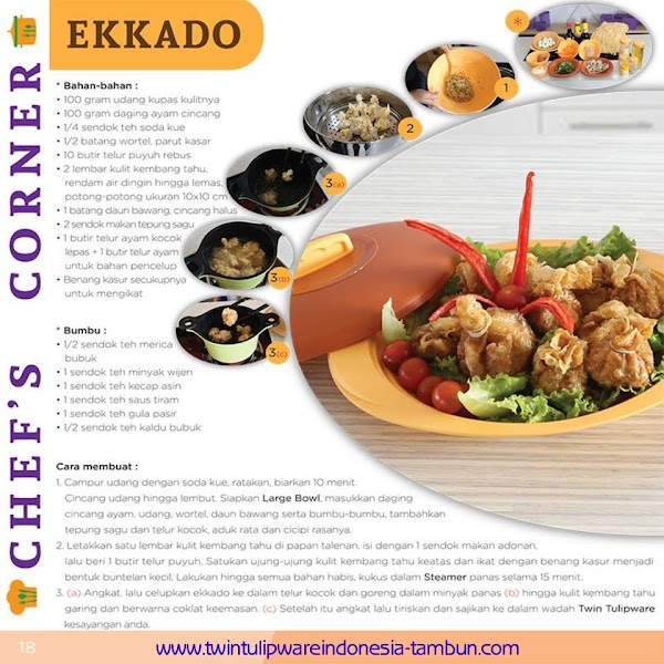 Chef's Corner : Resep Ekkado