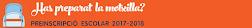 Preinscripció PTT PINEDA DE MAR 2017-2018