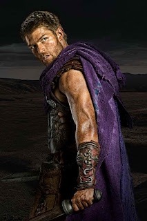 Liam McIntyre in Spartacus War of the Damned, the final season