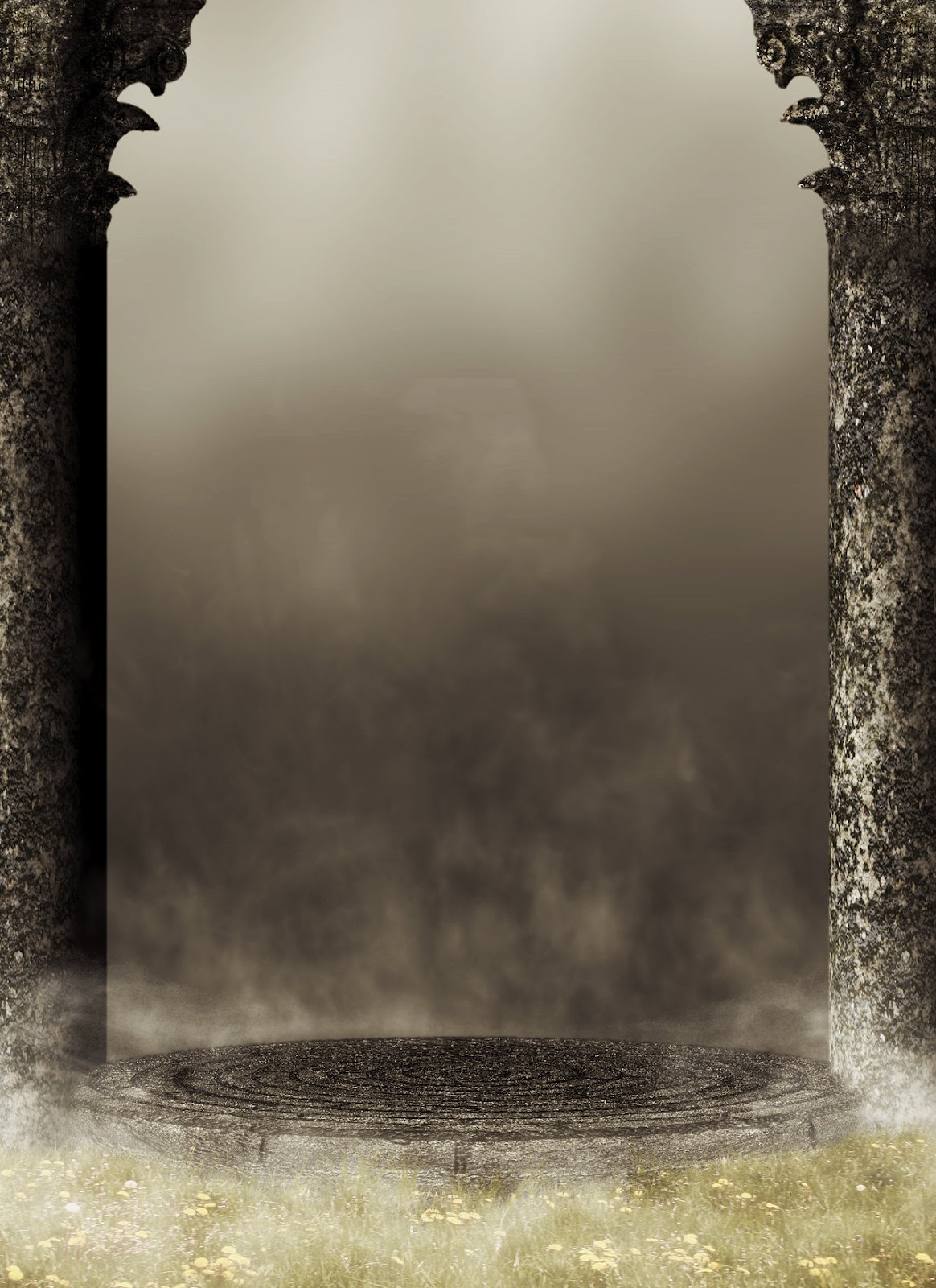 Pin night texture gothic backgrounds city images of for Premade columns