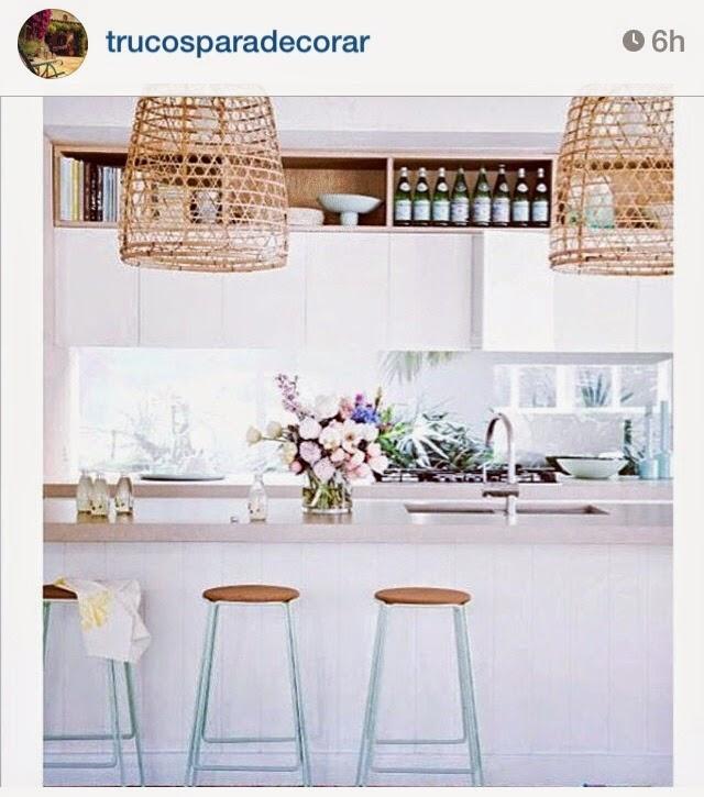 Selección Instagram: espacios con personalidad, cocinas y detalles de fibras naturales