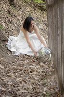 Bride and Disco Ball