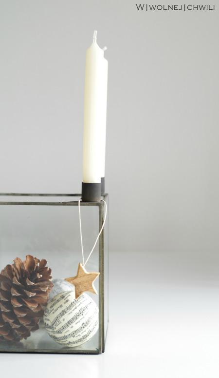 Adwentowy świecznik