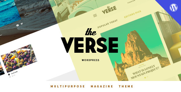 Download Verse - Multipurpose WordPress Magazine Theme