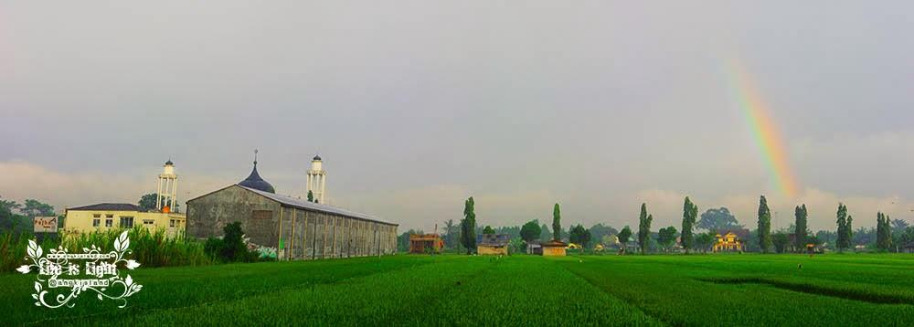 Replika masjid Aceh Baiturahman Bantul
