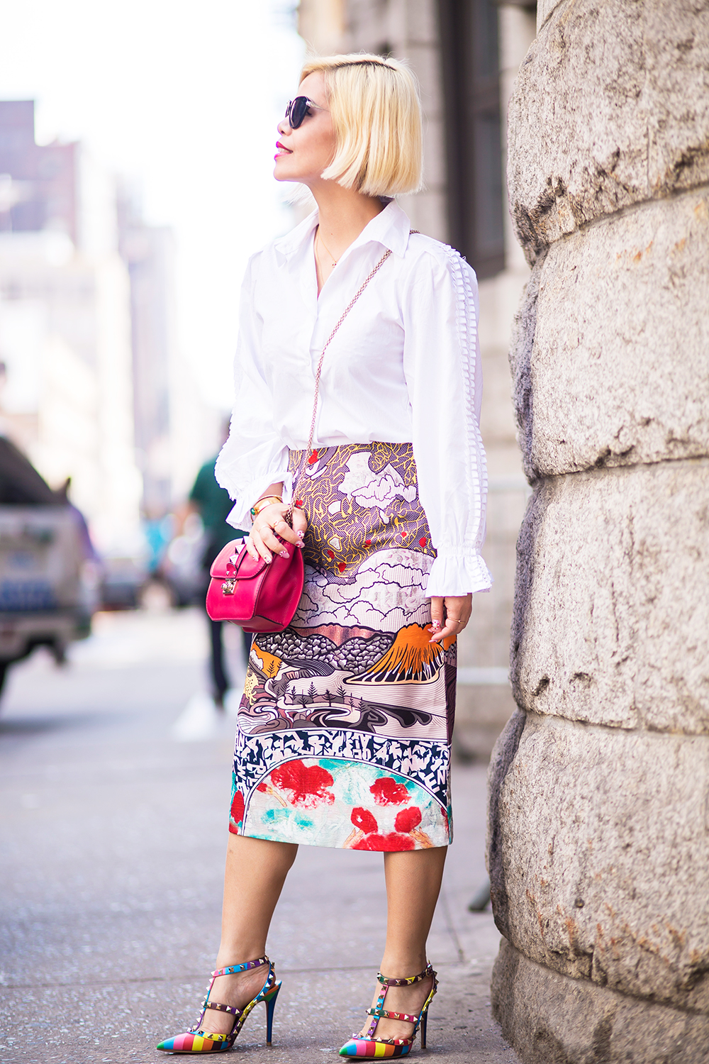 New York Fashion Week 2015- Street Style- Crystal Phuong