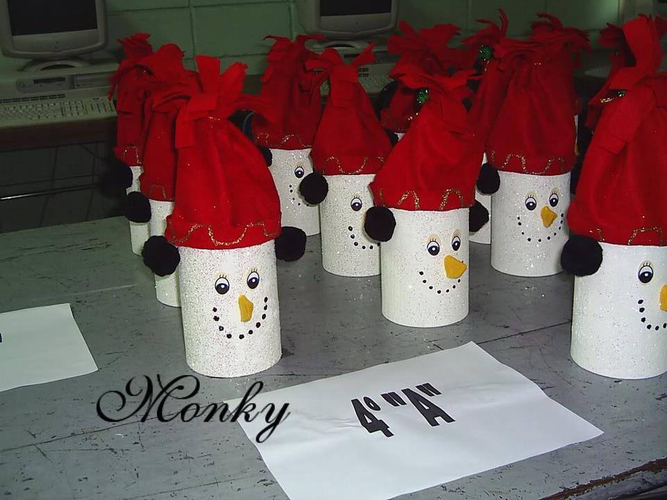 adornos navideos para preescolar