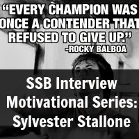 Interview Motivational Series: Sylvester Stallone