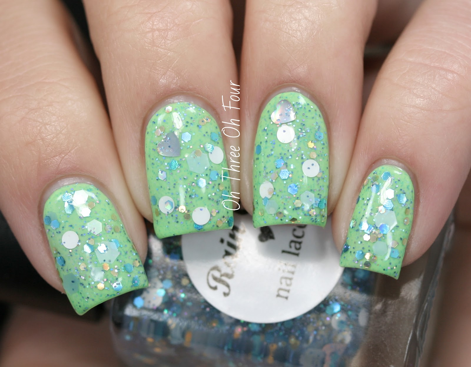 Rain City Lacquer Fish Scales swatch