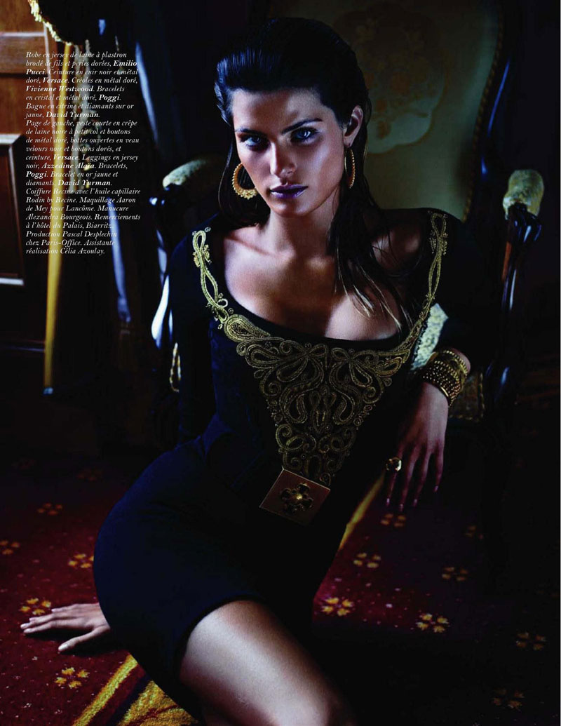 Fashionable Hairs Isabeli Fontana by Mario Sorrenti 13