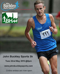 Popular & Fast 5k in Cork City... Tues 22nd May 2018
