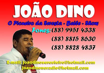 PARA CONTRATAR JOÃO DINO & BANDA