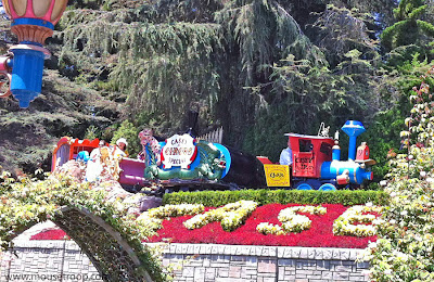 Disneyland Casy Jr. Circus Train Story Book Storybook Land