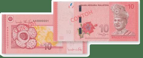 Duit Kertas RM10