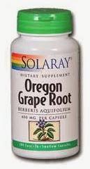 Solaray Oregon Grape Root Capsules