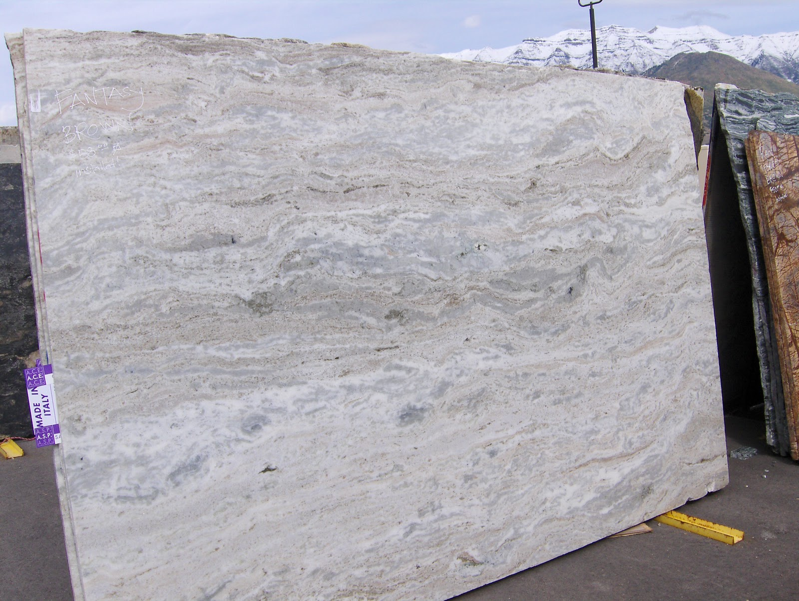 Granite Counter Top Slabs : The granite gurus new colors in stock with incredible