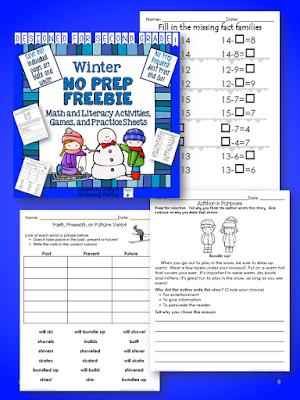 Winter activities for second grade