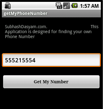 How to find your phone number on blackberry 4g