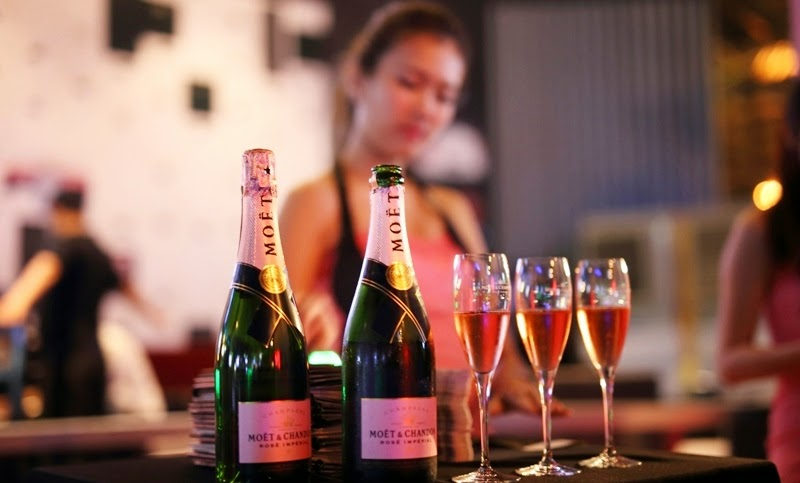 Moet & Chandon Rosé Impérial, Celebrates Art & Creativity, Moet & Chandon, Rosé Impérial, Champagne Party