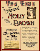 Special Tea Time with Molly Brown on     April 27th for Just Girl's Weekend!!!