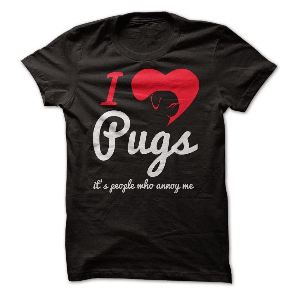 I Love Pugs T shirt