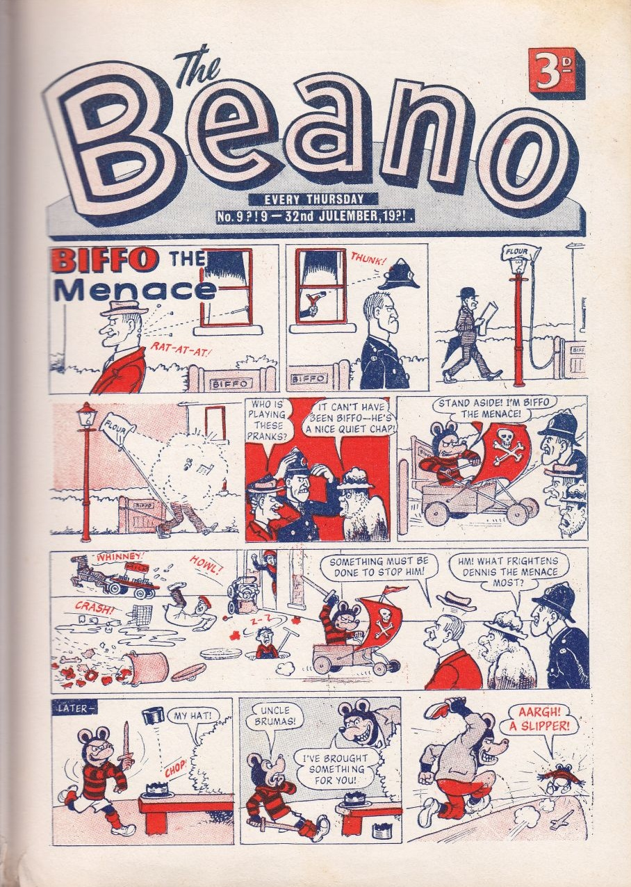 Upon Their Arrival The Staff All Make A Run For It So Kids Have To Produce That Weeks Beano Smiffy Is Appointed As Editor