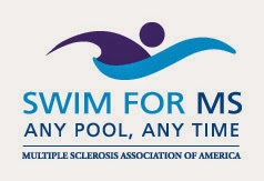 Multiple Sclerosis Association of America's Swim for MS logo