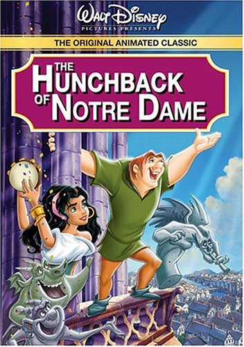 DVD artwork The Hunchback of Notre Dame 1996 disneyjuniorblog.blogspot.com