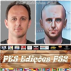 Rogério Ceni (Clássicos) Aposentado ex São Paulo e Brasil PES PS2