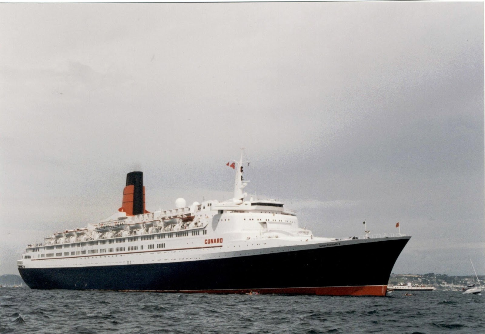 navigation cruising and maritime themes qe2 the ship of my