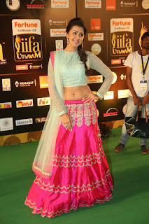 Nikki Galrani Latest Stills in Lehenga Choli at IIFA Awards 2016 ~ Celebs Next