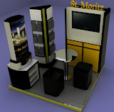 BOOTH COUNTER BOOTH STAND