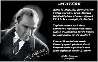 Atatürk İle İlgili Şiirler /Kısa / Atatürk Şiirleri