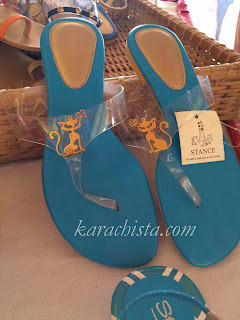 Shoes at British Women's Association Fair Karachi