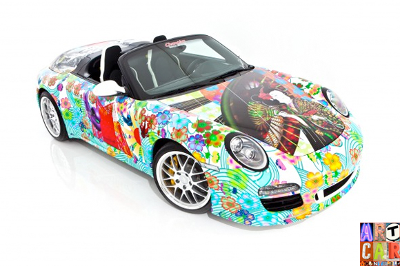 997 Porsche Art Car by Miguel Paredes - Art Car Central