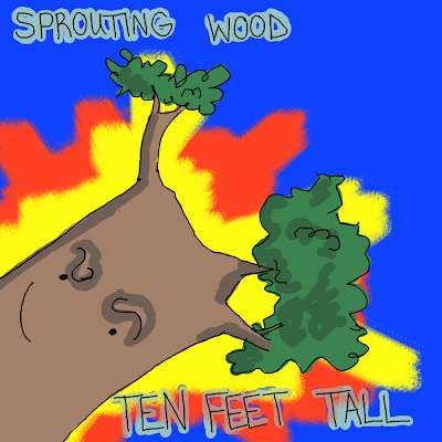 Sprouting wood ten feet tall comic Quills and Frills