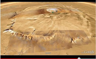 Melihat Planet Mars di Google Earth