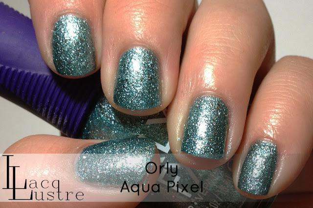 Orly Aqua Pixel swatch