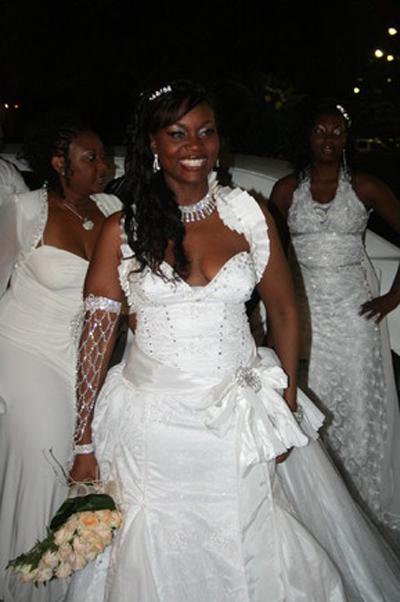 Casamento da Lizha James Chegada