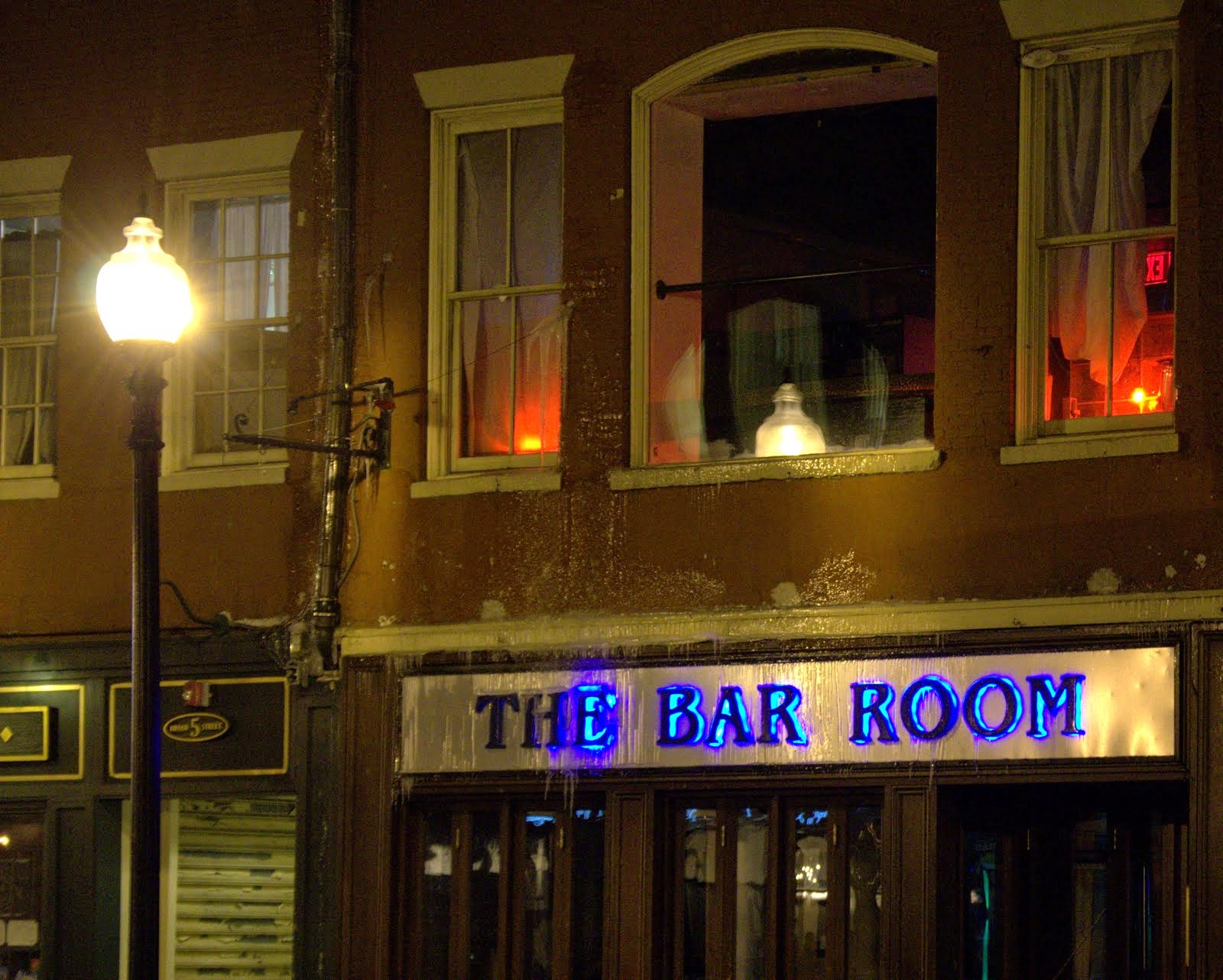 The Bar Room, Broad Street, Boston