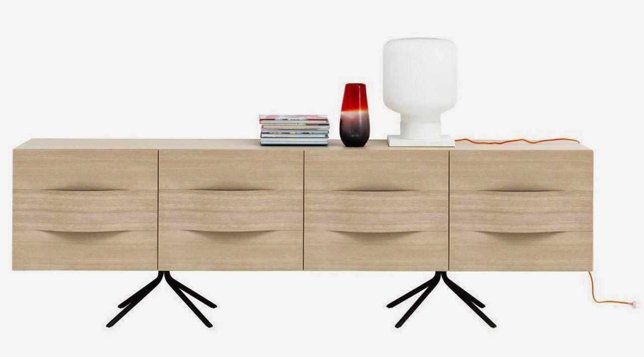 Ottawa Collection sideboard by Karim Rashid