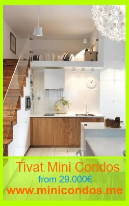 Mini Condos for Sale in Tivat, from 29.000€ only!