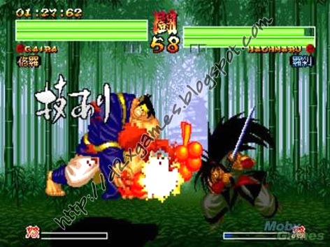 Free Download Games - Samurai Shodown 4
