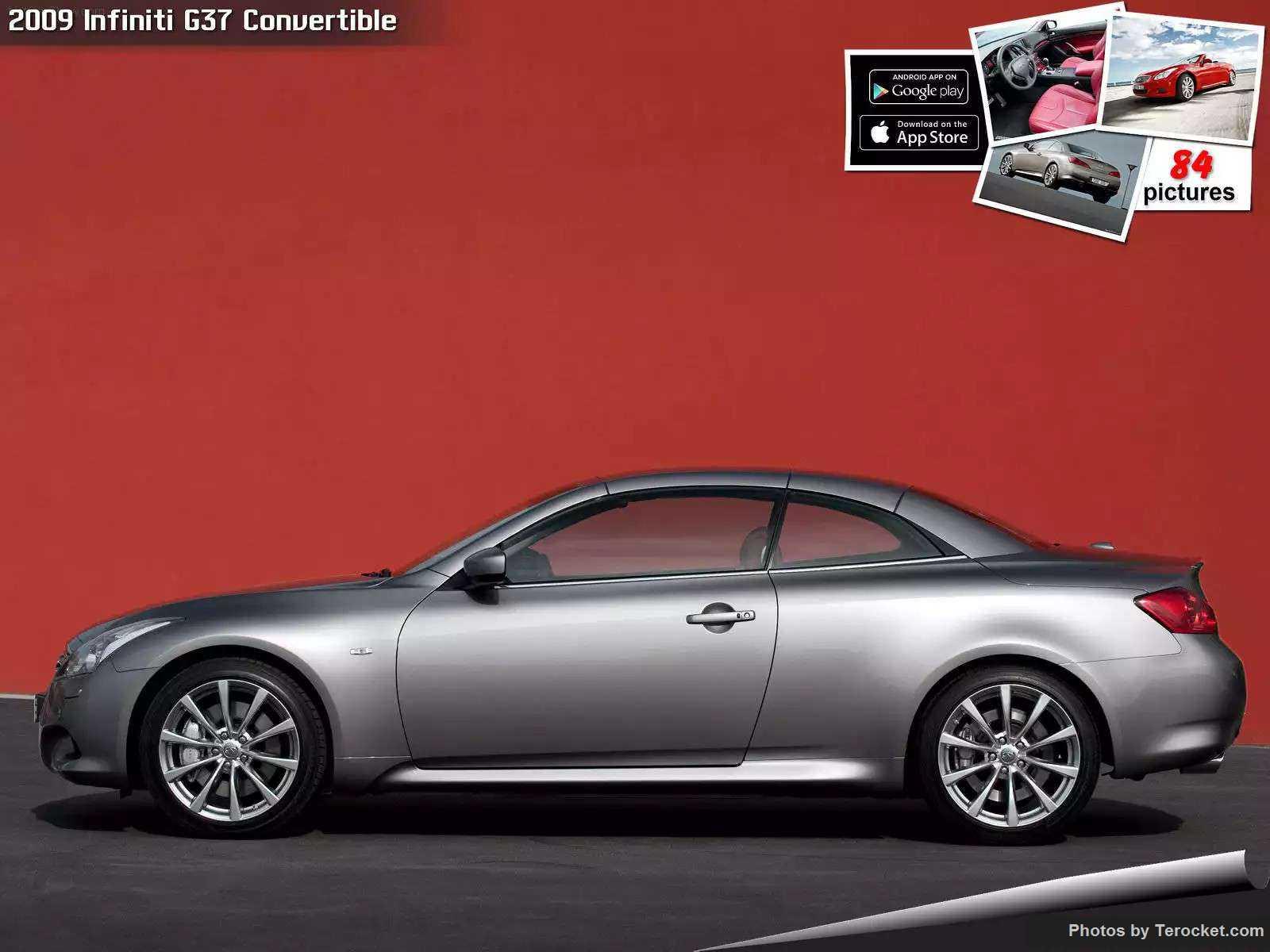 Hình ảnh xe ô tô Infiniti G37 Convertible 2009 & nội ngoại thất
