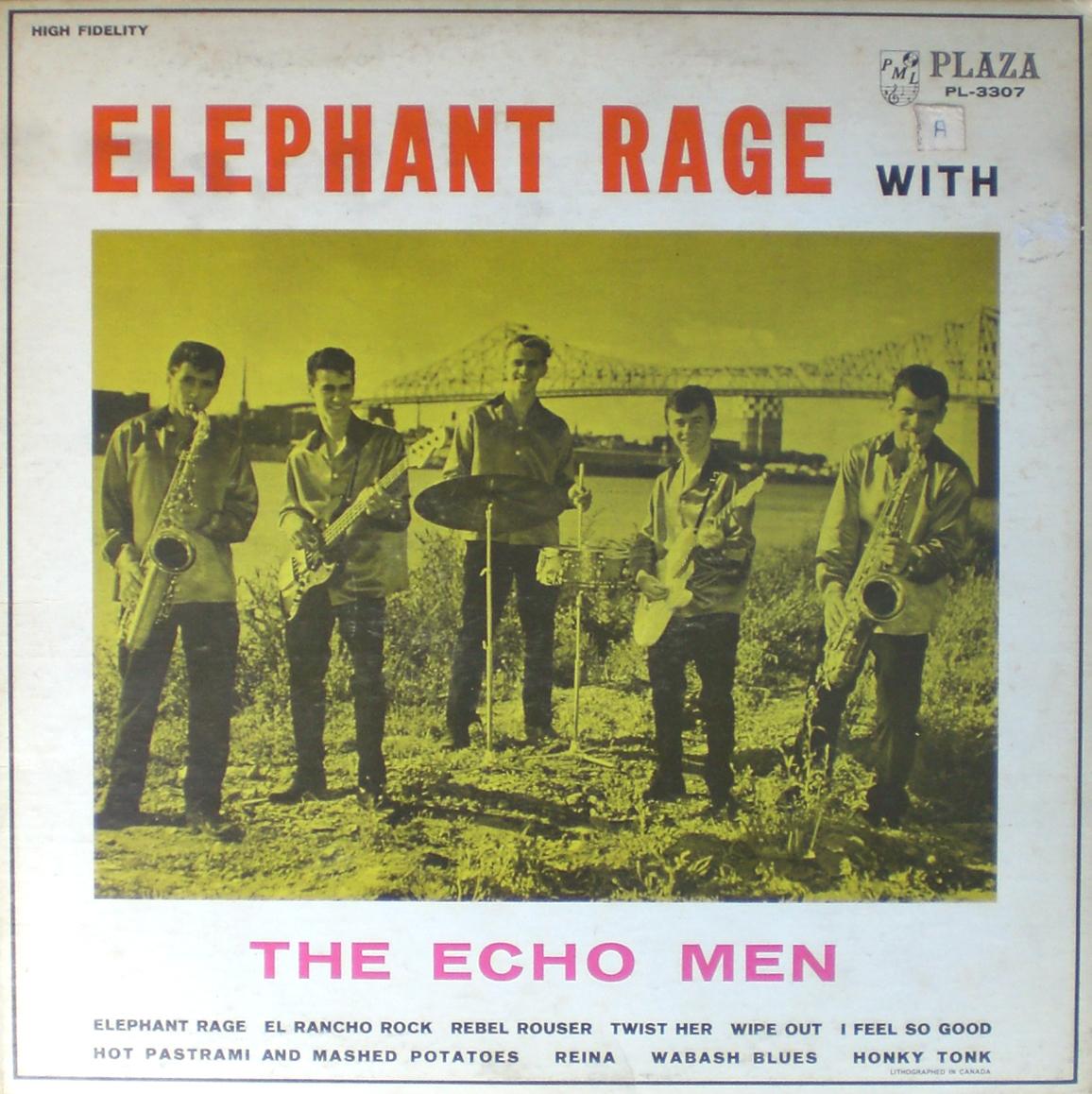 Echo Men Elephant Rage