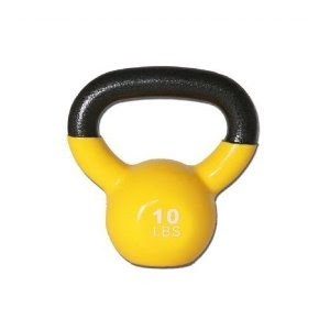 10 lb Kettlebell-Training DVD-Exercise Booklet