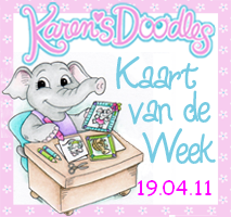 ik was kaart van de week 14 juli, 19 april,7 april en 8 febr