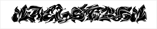 Free Graffiti Fonts - Maelstrom